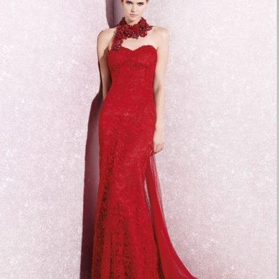 vestido-rojo-cuello-collar-yolancris-oulett