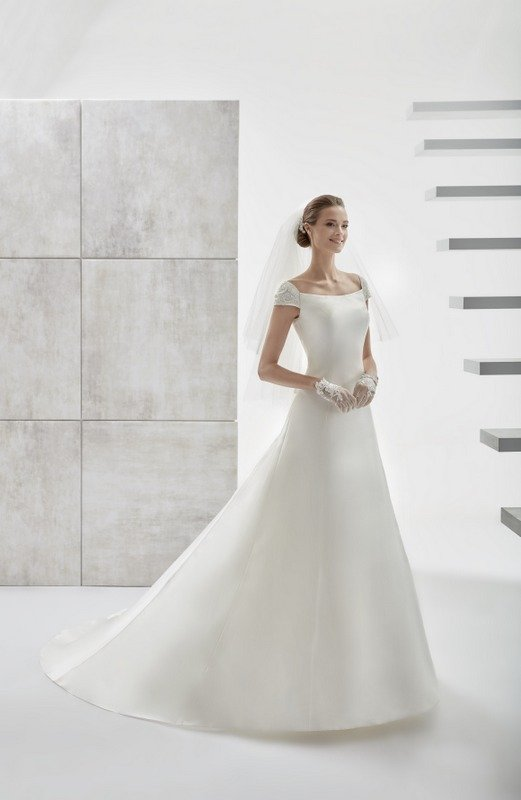 lo menos es más, elegante y económico vestido de novia. - modena novias