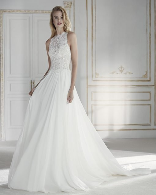 palmiras vestido de novia de la sposa - modena novias