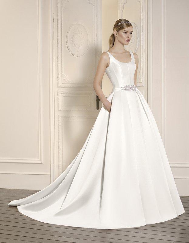 Vestidos novia corte clasico