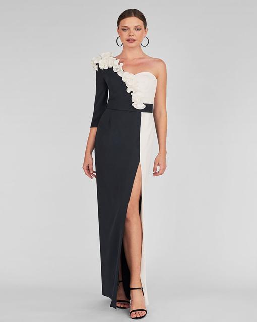 vestido largo de fiesta de maría lago heloisa m1322 - modena novias