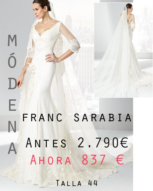 Vestidos fiesta franc sarabia 2016